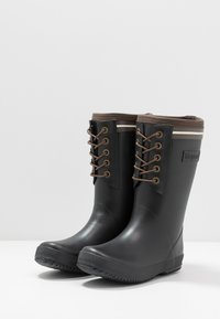 Bisgaard - BOOT LACE THERMO - Holínky - black - 3