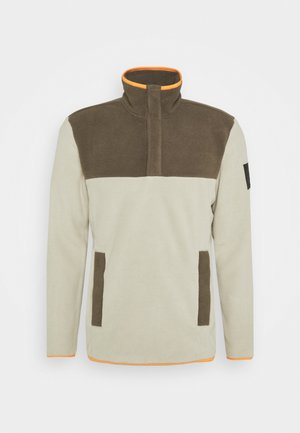 FLASH - Sweat polaire - beige
