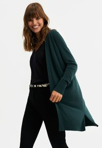 WE Fashion - Cardigan - dark green - 3