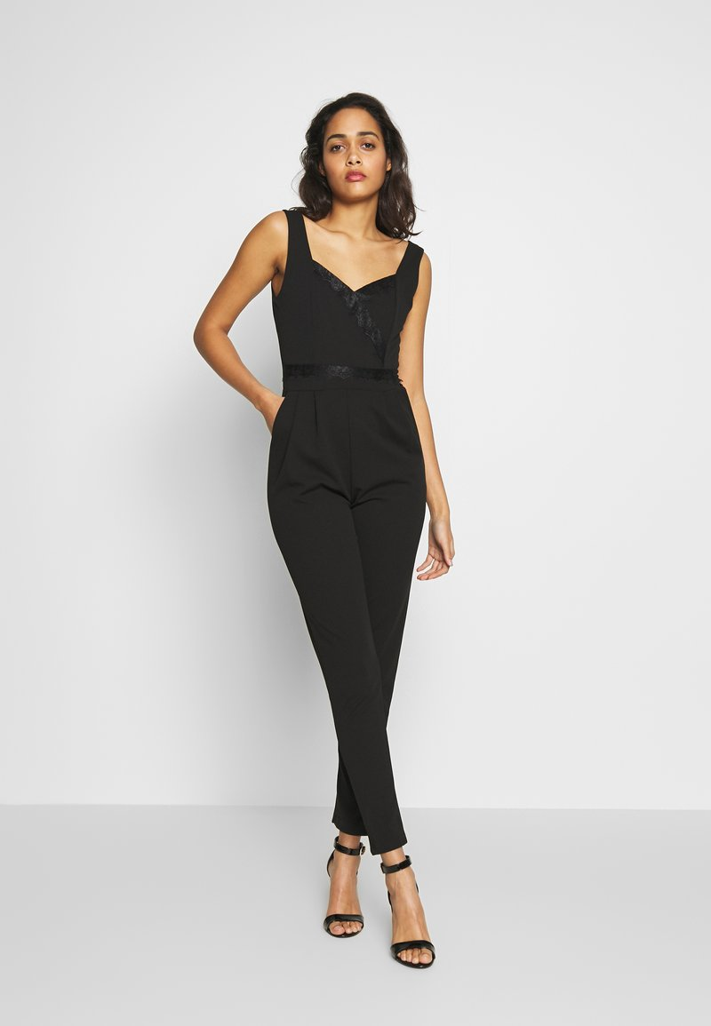 WAL G TALL - SWEETHEART FITTED - Jumpsuit - black