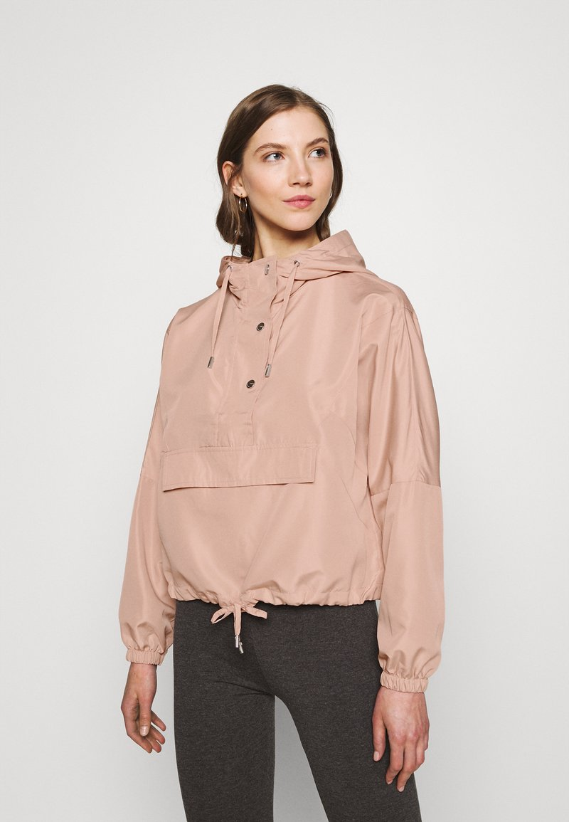 ONLY - ONLCONNIE POCKET ANORAK - Veste coupe-vent - misty rose