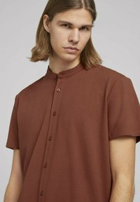 TOM TAILOR DENIM - Shirt - goji orange - 3
