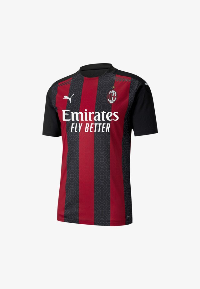 AC MILAN HOME AUTHENTIC  - T-shirt med print - tango red -puma black