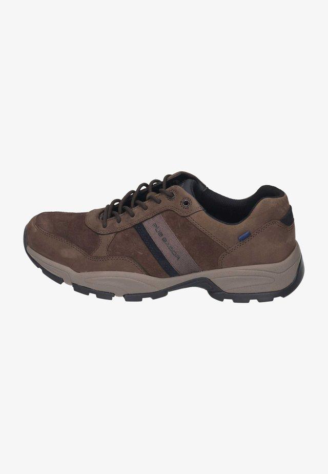 Sneakers laag - espresso/navy