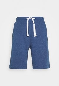 TOM TAILOR - Shorts - after dark blue/white melange - 0