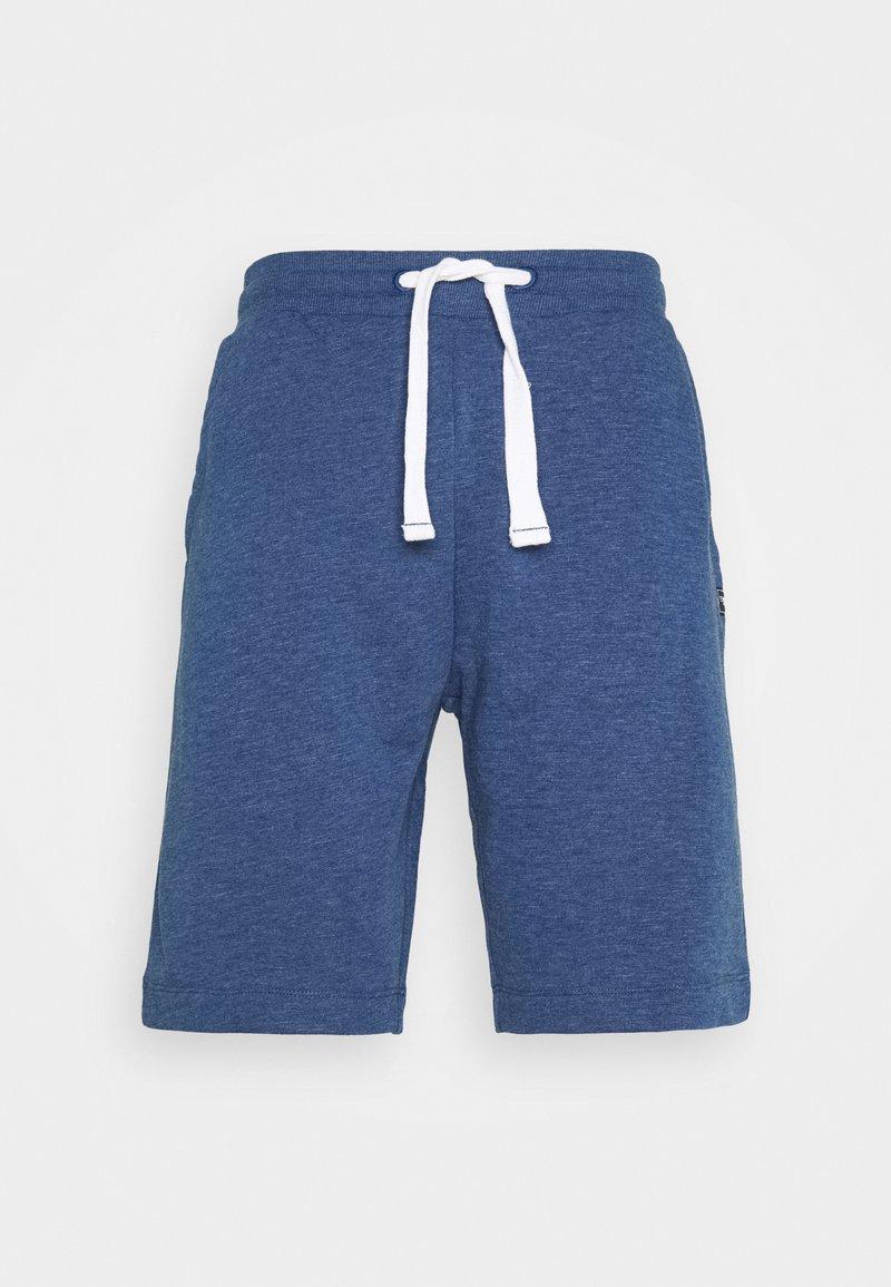 TOM TAILOR - Shorts - after dark blue/white melange