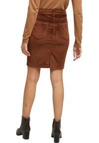 Esprit - PENCIL SKIRT - Pencil skirt - brown - 2