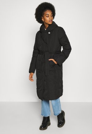 VIWANAS LONG JACKET - Vinterfrakker - black