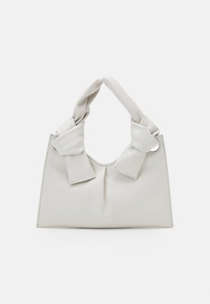 KNOT EVENING BAG - Handbag - cream