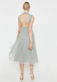 BEAUUT - DIAZ EMBELLISHED SEQUINS   - Cocktail dress / Party dress - sage green - 1