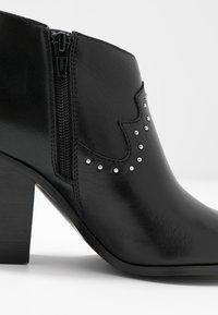 ALDO - PRAUCLYA - High heeled ankle boots - black - 2