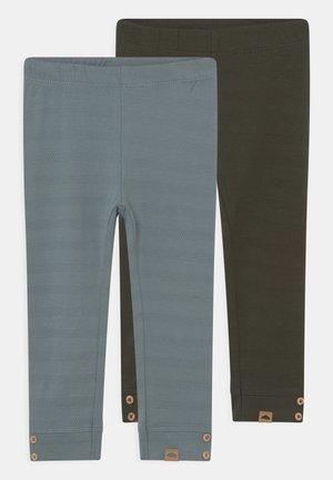 NBMNORD 2 PACK - Leggings - Trousers - rosin