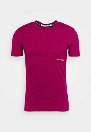 OFF PLACED ICONIC TEE UNISEX - Print T-shirt - purple