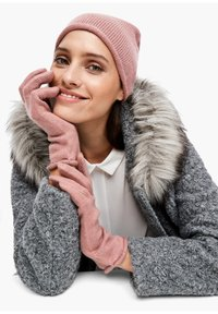 s.Oliver BLACK LABEL - Gloves - light pink - 0