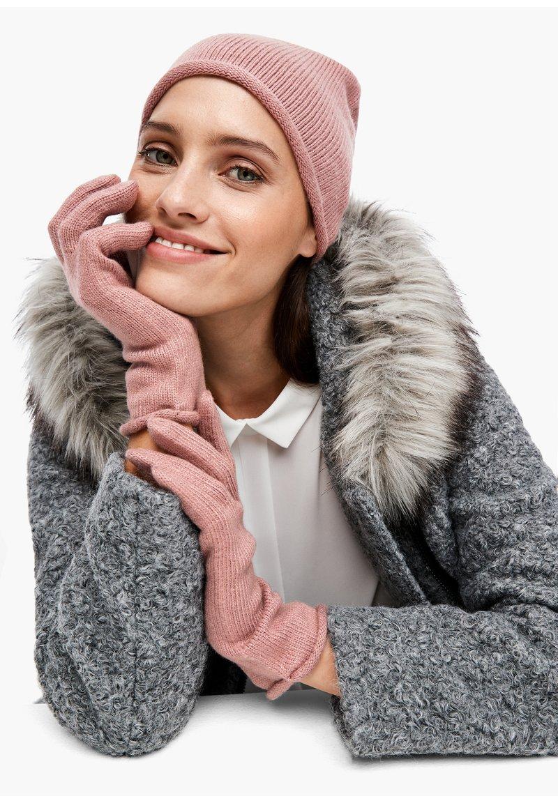s.Oliver BLACK LABEL - Gloves - light pink