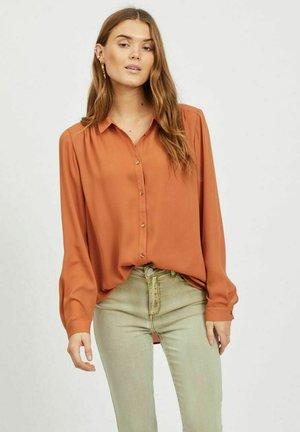 VILUCY - Button-down blouse - adobe