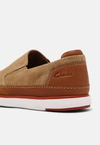 Clarks - BRATTON STEP - Sneakers laag - sand - 6