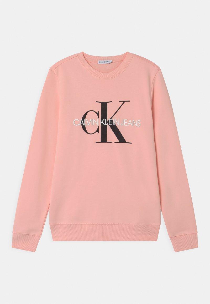 Calvin Klein Jeans - MONOGRAM LOGO UNISEX - Mikina - pink