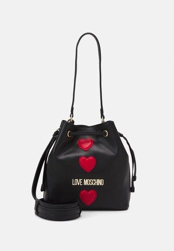 BUCKET BAG BLACK EXCLUSIVE - Handbag - black