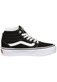Vans - Skate shoes - black/true white - 5