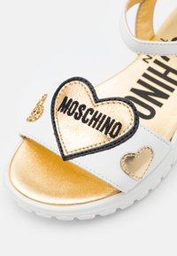 MOSCHINO - Sandals - white - 5