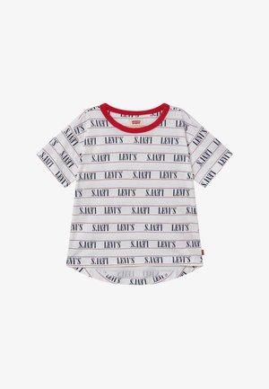RINGER TEE - Camiseta estampada - white
