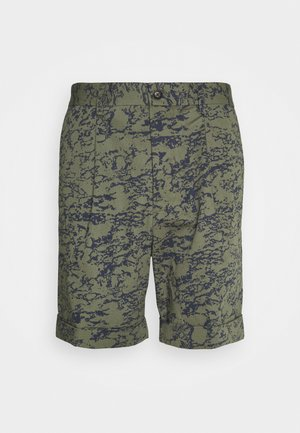 PRESTON  - Shorts - lichen green/denim blue