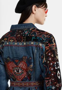 Desigual - ATHLAS PARK - Denim jacket - blue - 4