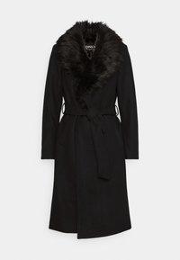 ONLY - ONLBERNA WRAP COAT - Klasický kabát - black - 5