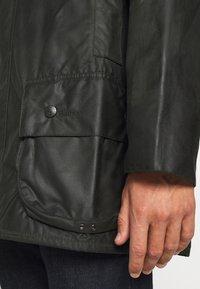 Barbour - BEAUFORT JACKET - Short coat - sage - 3