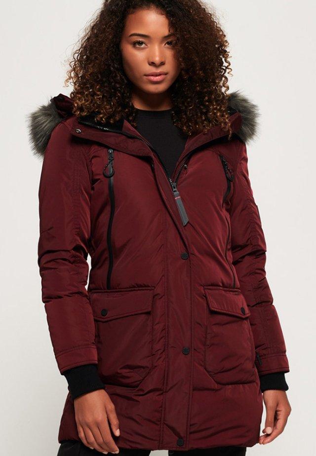 ANTARCTIC EXPLORER - Down coat - dark red