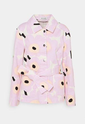 LOISTEES PIENI UNIKKO  - Summer jacket - lavender/black/white