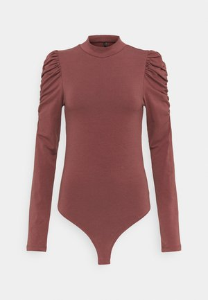 ONLZAYLA PUFF BODY  - Longsleeve - rose brown