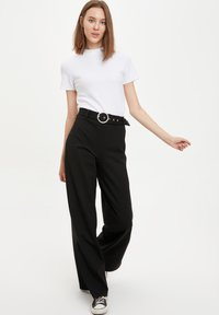 DeFacto - Trousers - black - 3