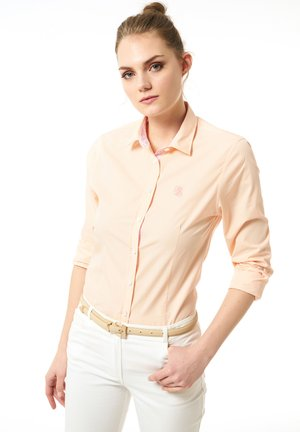 Button-down blouse - lachs