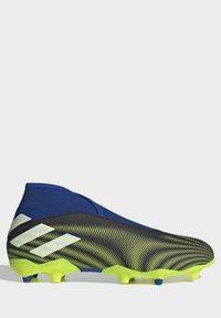 adidas Performance - NEMEZIZ.3 FG LACELESS FUSSBALLSCHUH - Moulded stud football boots - black - 6