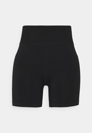 LIFESTYLE SEAMLESS YOGA SHORT - Medias - black