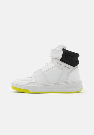 Sneakers hoog - optic white/black