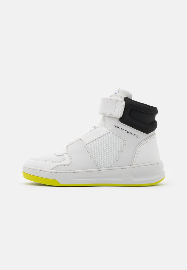 Sneakers hoog - optic white/black