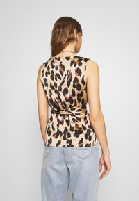 Never Fully Dressed - WRAP TOP - Blouse - leopard - 2