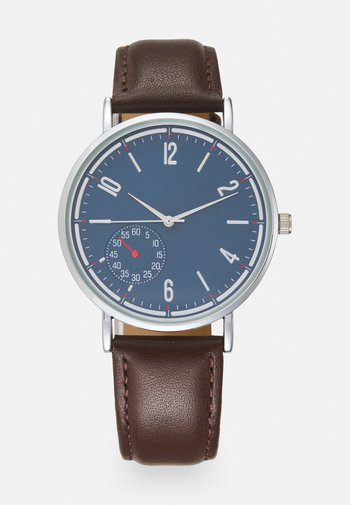 LEATHER - Montre - brown