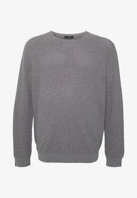 Selected Homme - SLHROCKY CREW NECK  - Jumper - medium grey melange - 4