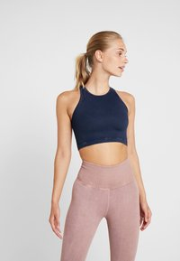 Free People - FP MOVEMENT SEAMLESS ROXY TANK - Toppi - navy - 0