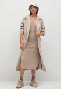Mango - ROLLY - Jumper dress - light/pastel grey - 2