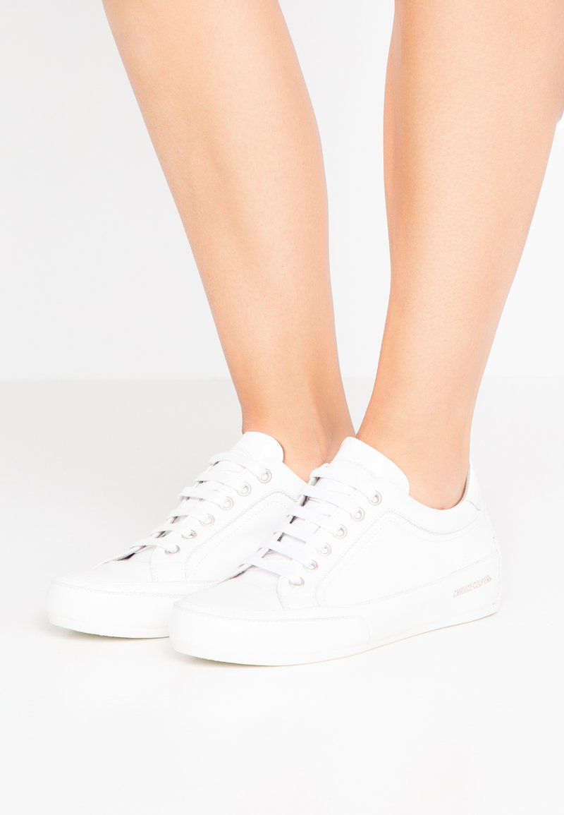 Candice Cooper - ROCK DELUXE - Sneakers - bianco/glossy bianco
