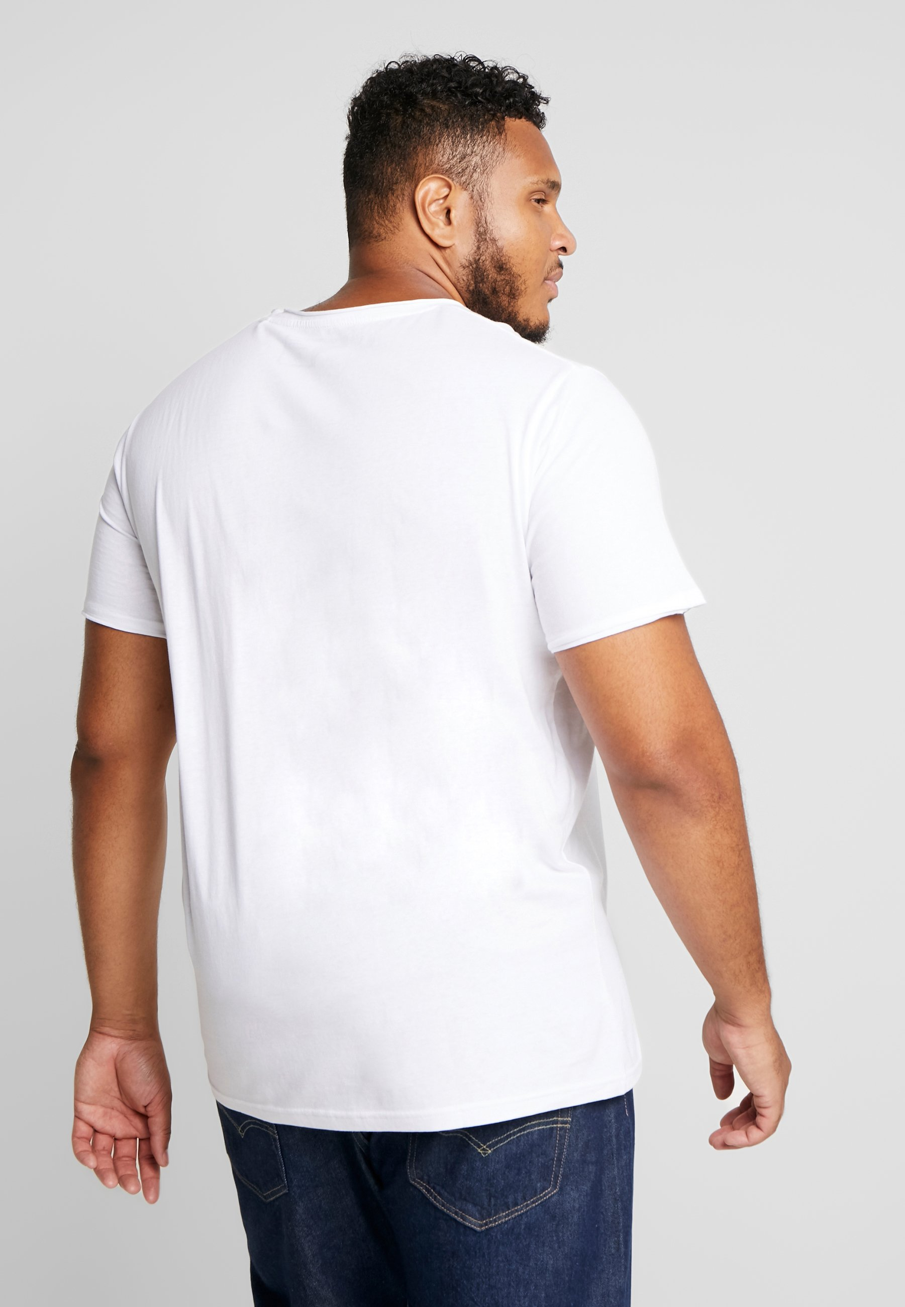 Solid GAYLIN - Basic T-shirt - white rtTGt