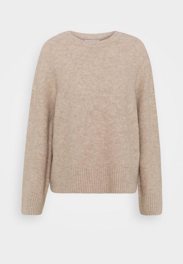 GRACE JUMPER - Sweter - beige