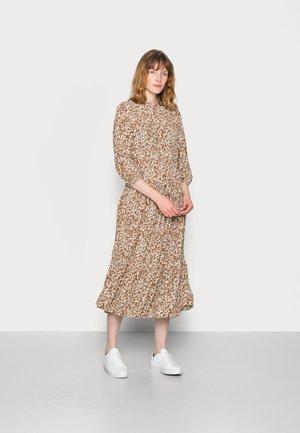 DRESS - Blousejurk - multi/brown ochre
