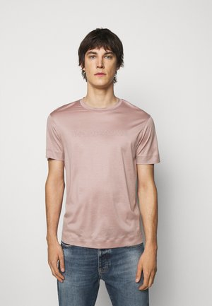 Triko spotiskem - light pink