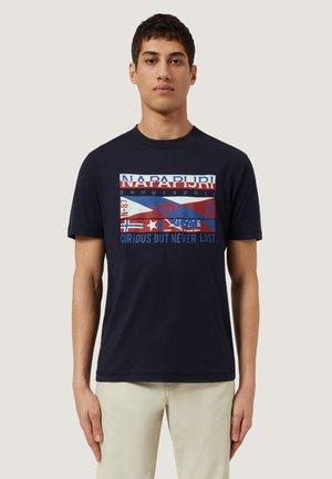 SIKAR - T-shirt med print - blu marine